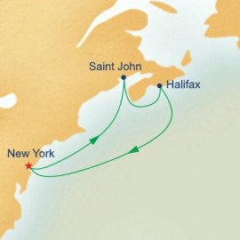 Canadian Atlantic Provinces Getaway Princess Cruises Cruise