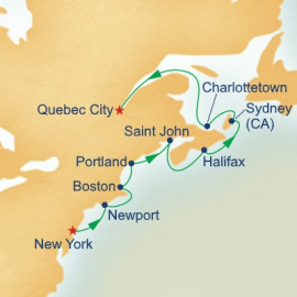Classic Canada and New England Itinerary