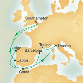 Mediterranean Interlude Itinerary