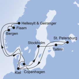 Northern Europe MSC Cruises Cruise