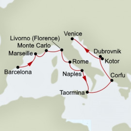 Mediterranean Tapestry Holland America Line Cruise