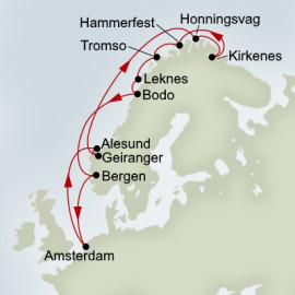 North Cape and Gems Of Norway Explorer Holland America Line Cruise