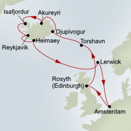 Scottish Highlands and Icelandic Fjords Explorer Holland America Line Cruise