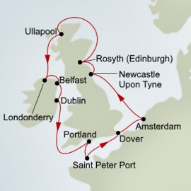 Irish and Scottish Explorer Holland America Line Cruise