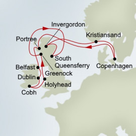 Fjords and Highlands Holland America Line Cruise