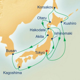 Hokkaido and Circle Japan Princess Cruises Cruise