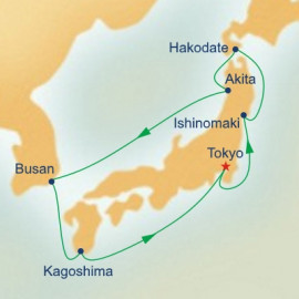Circle Japan Princess Cruises Cruise