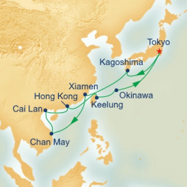 China Taiwan and Vietnam Princess Cruises Cruise