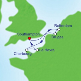 French and Dutch Adventure Royal Caribbean Cruise