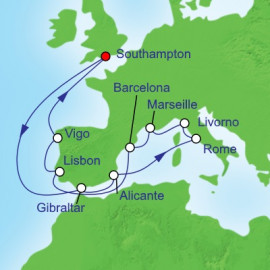 Mediterranean Tour Royal Caribbean Cruise
