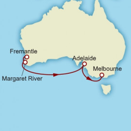 Fremantle to Melbourne Cunard Cruise