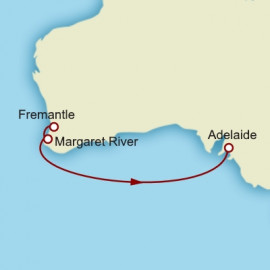 Fremantle to Adelaide Itinerary