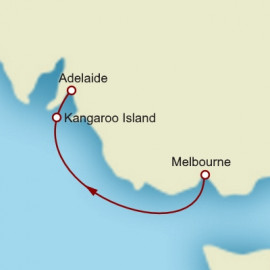 Melbourne to Adelaide Cunard Cruise