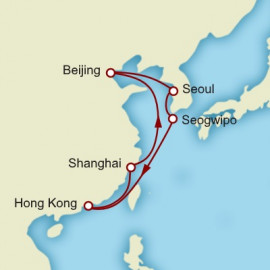Roundtrip Hong Kong World Sector Cunard Cruise