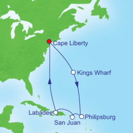 Bermuda and Caribbean Itinerary