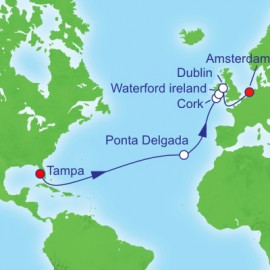 Tampa To Amsterdam  Itinerary