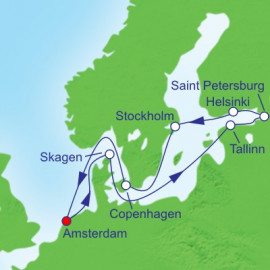Baltic Cruise Itinerary
