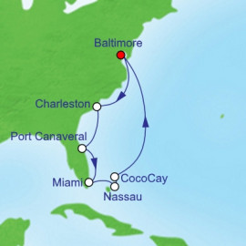 Southeast Coast and Bahamas Itinerary