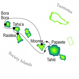 Tahiti & Society Islands Cruise