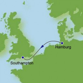 Hamburg to Southampton Norwegian Cruise Line Cruise