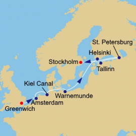 Baltic Capitals Itinerary
