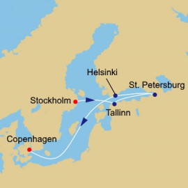 The Baltic and Saint Petersburg Azamara Club Cruises Cruise