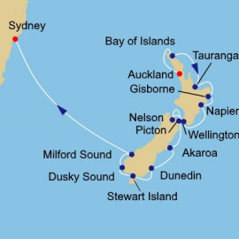 New Zealand Intensive Voyage Itinerary