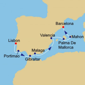 Iberian Exploration Itinerary