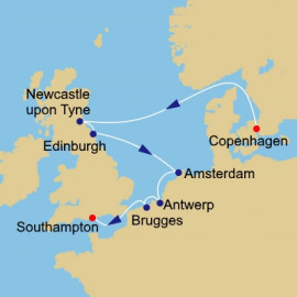Northern Capitals Itinerary