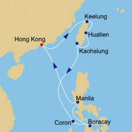 Philippines and China Azamara Club Cruises Cruise