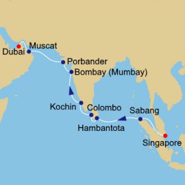 Sri Lanka And India Odyssey Azamara Club Cruises Cruise