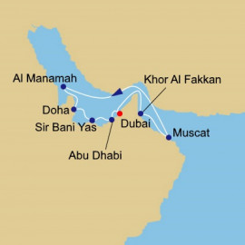 Arabian Gulf and Emirates Azamara Club Cruises Cruise