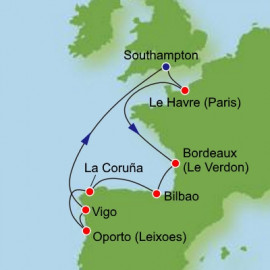 France and Iberia Itinerary