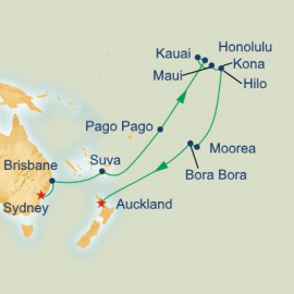 Hawaii Tahiti and South Pacific Princess Cruises Cruise