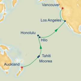 Hawaii and Tahiti and South Pacific Crossing Cruise