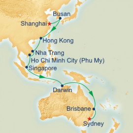 Shanghai to Sydney Princess Cruises Cruise