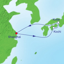 Golden Week Kochi and Kobe  Itinerary