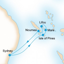 Explore Loyalty Islands P&O Cruises Cruise