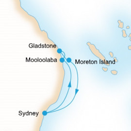 Southern Barrier Reef P&O Cruises Cruise