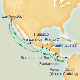 Panama Canal Pacific Adventure Itinerary