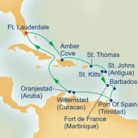 Circle Caribbean Princess Cruises Cruise