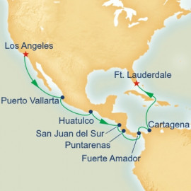 Panama Canal Ocean to Ocean Itinerary