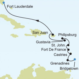 Caribbean and Central America Silversea Cruises Cruise