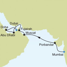 Mumbai to Dubai Itinerary