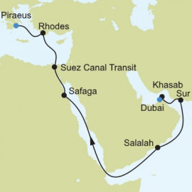 Dubai to Athens Itinerary