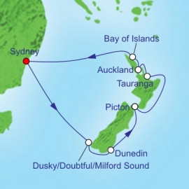 New Zealand Royal Caribbean Cruise