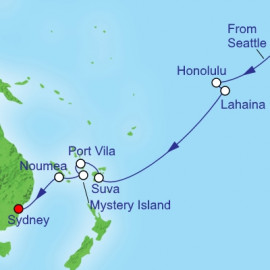 Transpacific  Itinerary