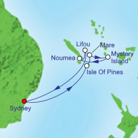 South Pacific  Royal Caribbean Cruise