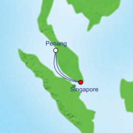 Penang Weekend Cruise Itinerary
