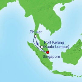 Port Klang and Phuket Itinerary